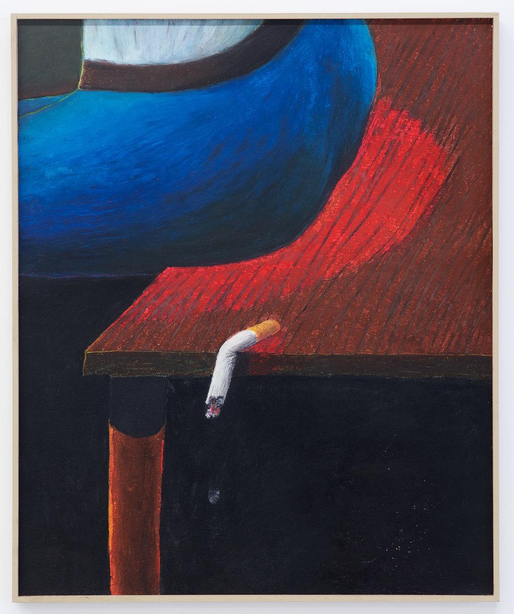 Gijs Milius,  Sans titre , 2018, Techniques mixtes, 60 x 40 cm. ©D.Giancatarina