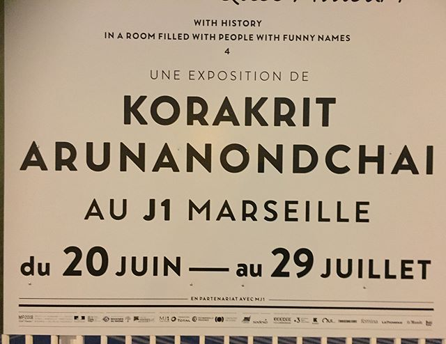 Fantastic performance yesterday the best ! 🙏🏻🧞‍♀️🦑🌞 #korakritarunanondchai #charlottecosson #emmanuelleluciani #marseille #J1 @clearing_new_york_brussels @kritbangkok