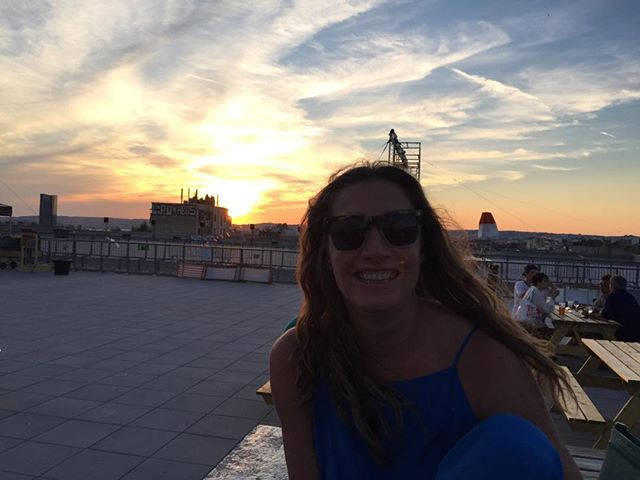 #rooftop #janainatschape #sunset #marseille #coolevening #peace #summerunicorn