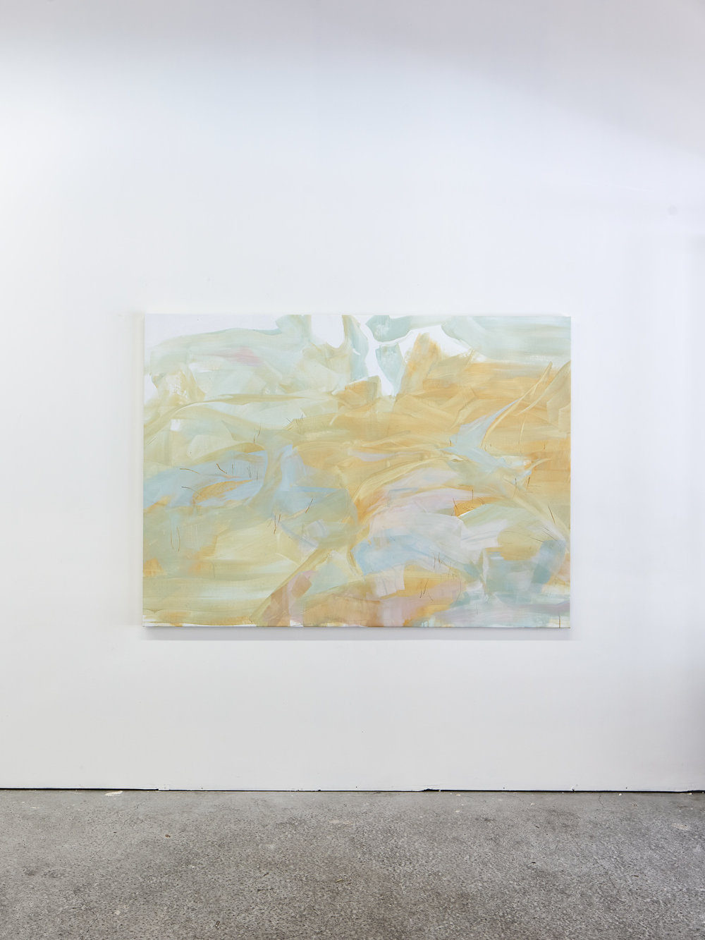 Janaina Tschäpe,  Halbschatten,  Bastide Projects, Marseille, exhibition view, 2018