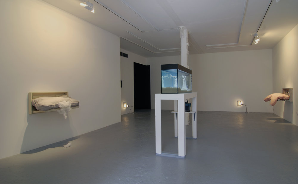 Biting Through Innocence,  Catherine Bastide gallery, Bussels, 2008, installation view