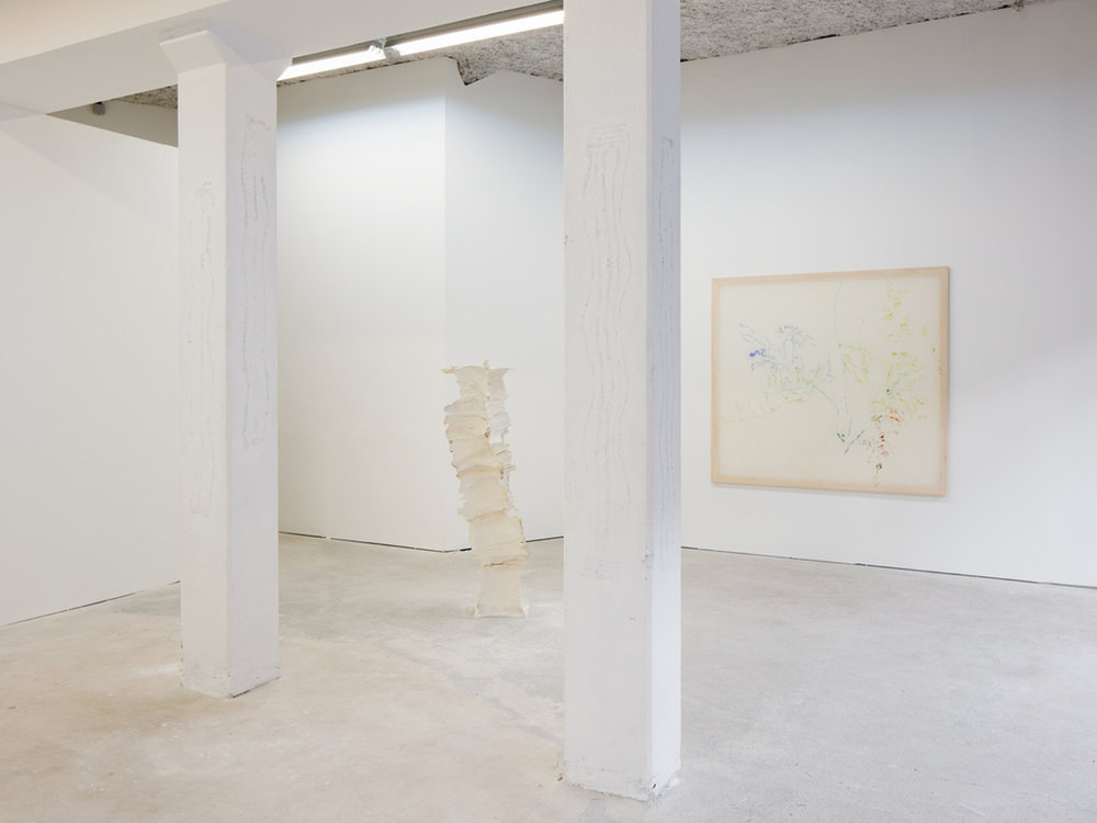 Jana Cordenier : The Beauty I see - Stijn Ank : The Beauty I feel, Bastide Projects, Marseille, exhibition view, 2018