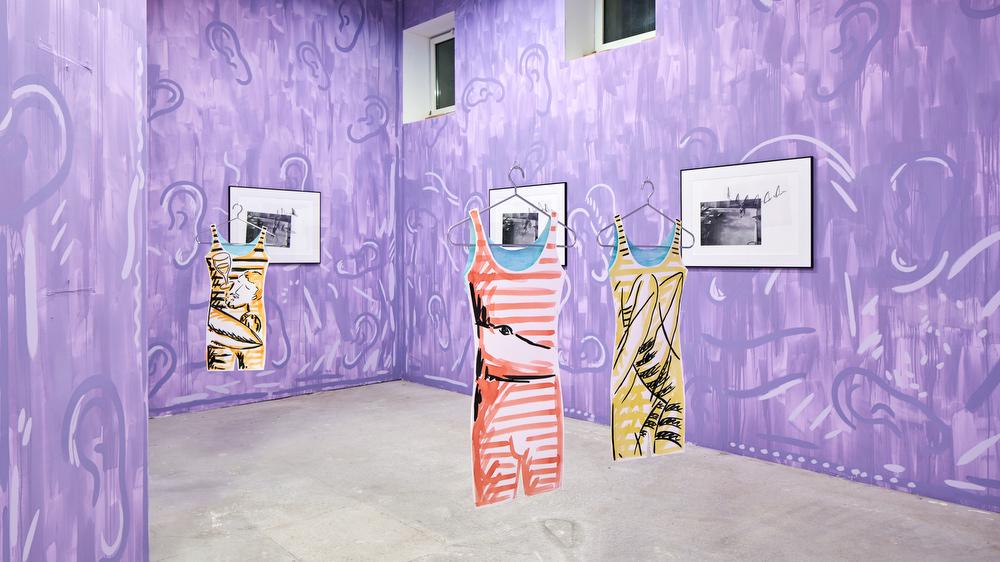 Luís Lázaro Matos,  White Shark Cafe , Bastide Projects, Marseille, 2018, exhibition view