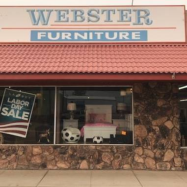 webster furniture, inc - 322 Main St, Brewster, WA 98812dan@websterfurniture.comhttp://websterfurniture.com/Facebook509-689-2131Webster Furniture retails home furnishings, appliances and laundry, floor coverings and Hunter Douglas window coverings.Dan Webster is a Chamber Board member.