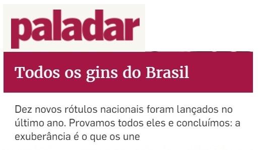 Jungle Gin foi eleito o terceiro melhor Gin do Brasil -