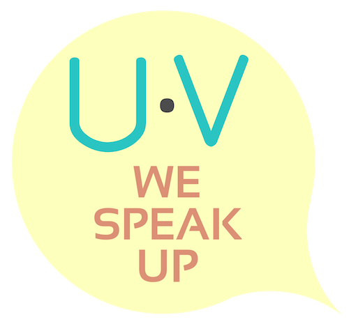 UV We Speak Up Icon (Trademarked)