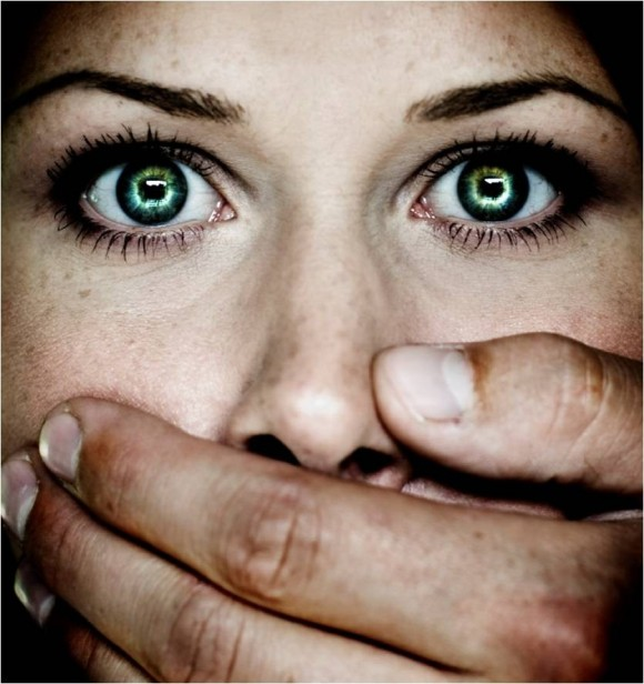 Kidnapped Woman Stock Photography (Source)