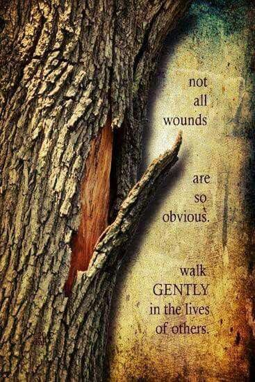 Wounds often are hidden.