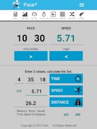 Marathon Time 1030 Pace