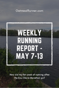 Weekly Running Report - May 7-13 Pinterest.jpg