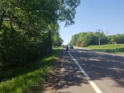 Stillwater Half Marathon Mile 10.5