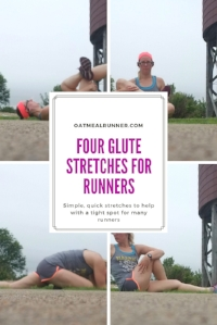 Four Glute Stretches for Runners Pinterest.jpg