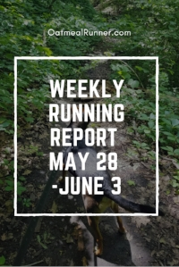 Weekly Running Report May 28 - June 3 Pinterest.jpg