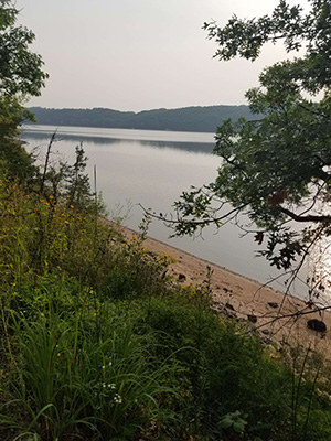 A view of the St. Croix River at Afton State Park