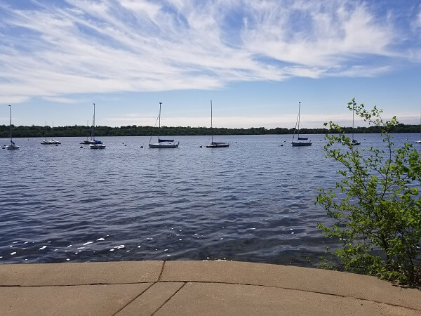 Sadly, Lake Harriet won't be this gorgeous come December. But hopefully the sun will be out for race day!