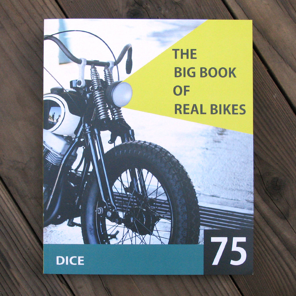 ISSUE 75OUT NOW - Cover photo by Jose Gallina.Cover bike Cycle West, Japan.Available in our store now