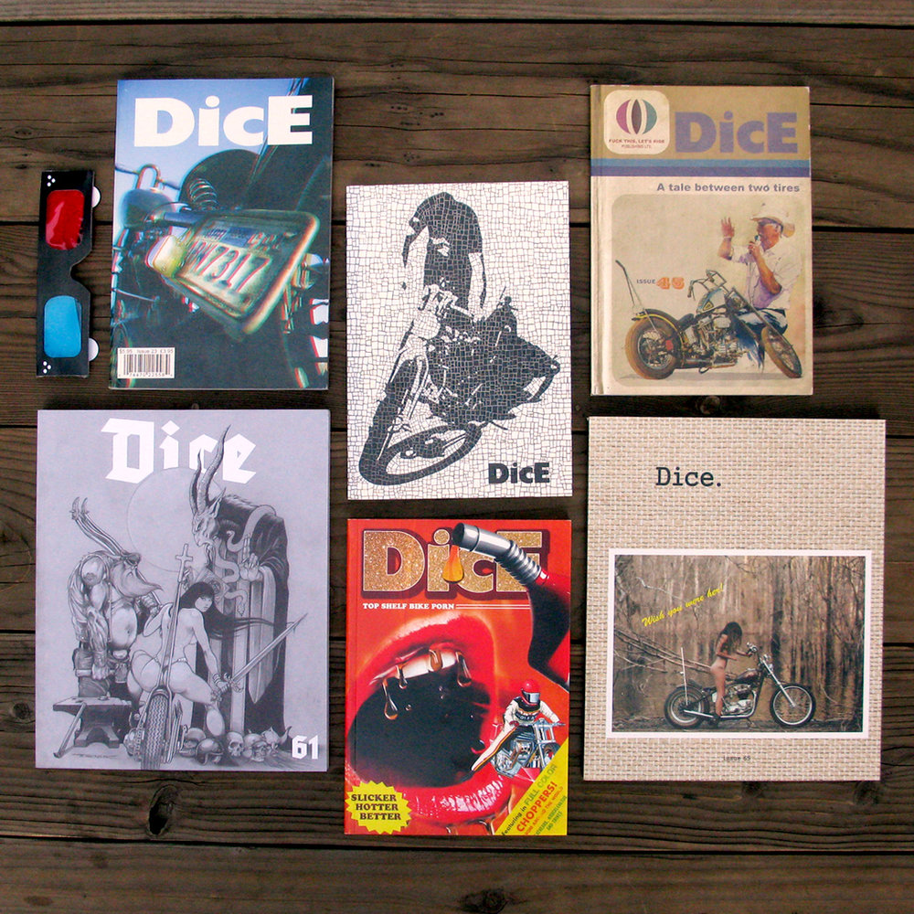 DicE 6 Pack Mix and Match Grab any 6 issues for a discounted price!