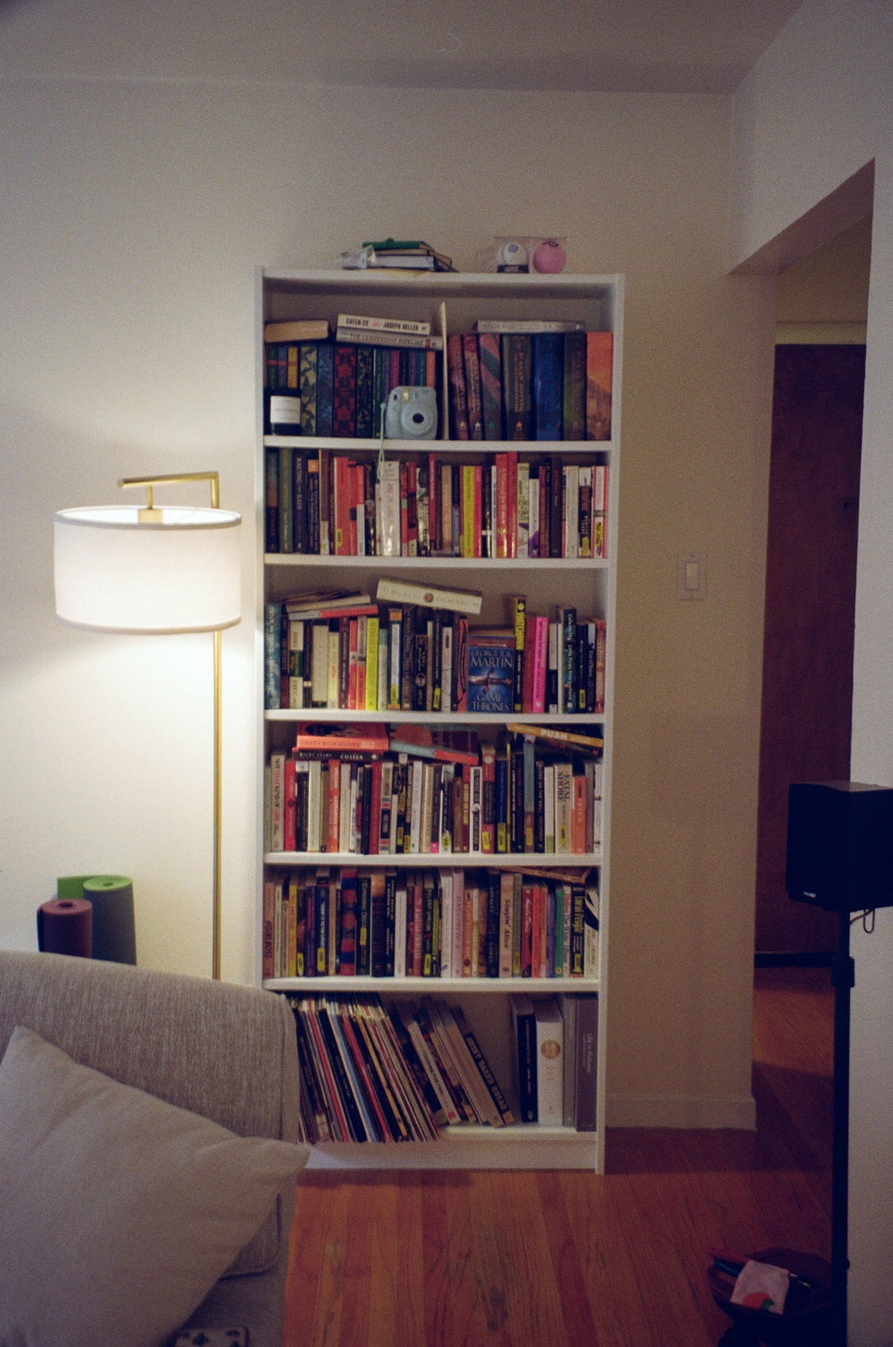 Bookcase:  IKEA