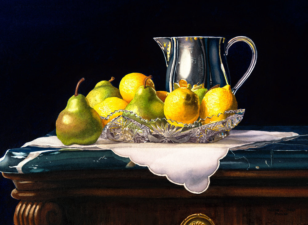 Still Life with Lemons and Pears