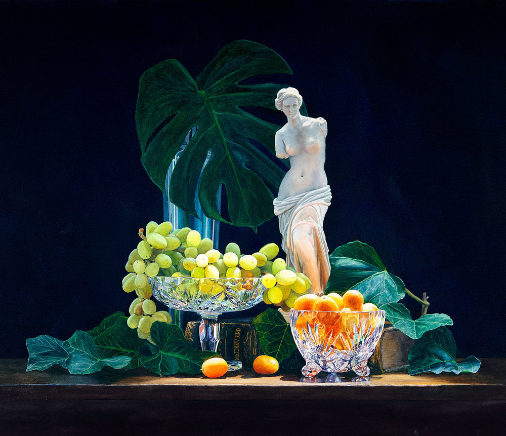 Still Life with Venus de Milo (SOLD)