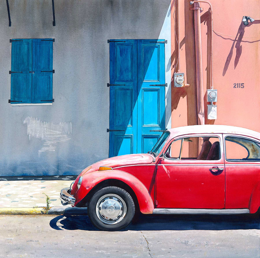 Punch Buggy Red