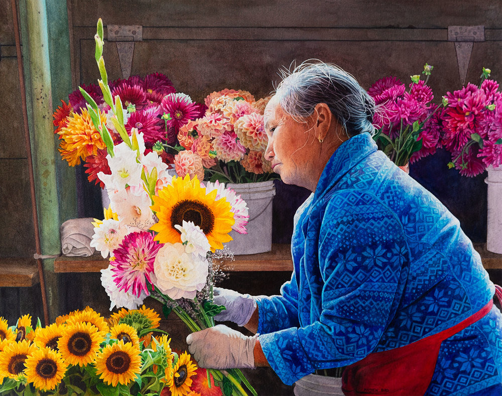 SOLD – The Flower Merchant