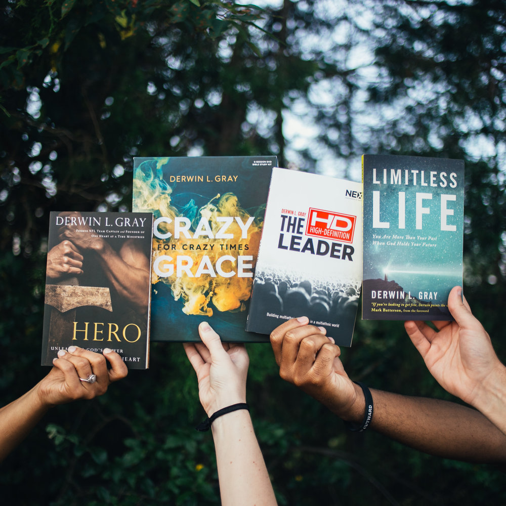 Books - Pastor Derwin L. Gray authored his first book in 2010 and has now written a total of four books. His writing is gospel-centered, dynamic, genuine, and life changing. His books will challenge you in all areas of life. Click below to learn more about his books.