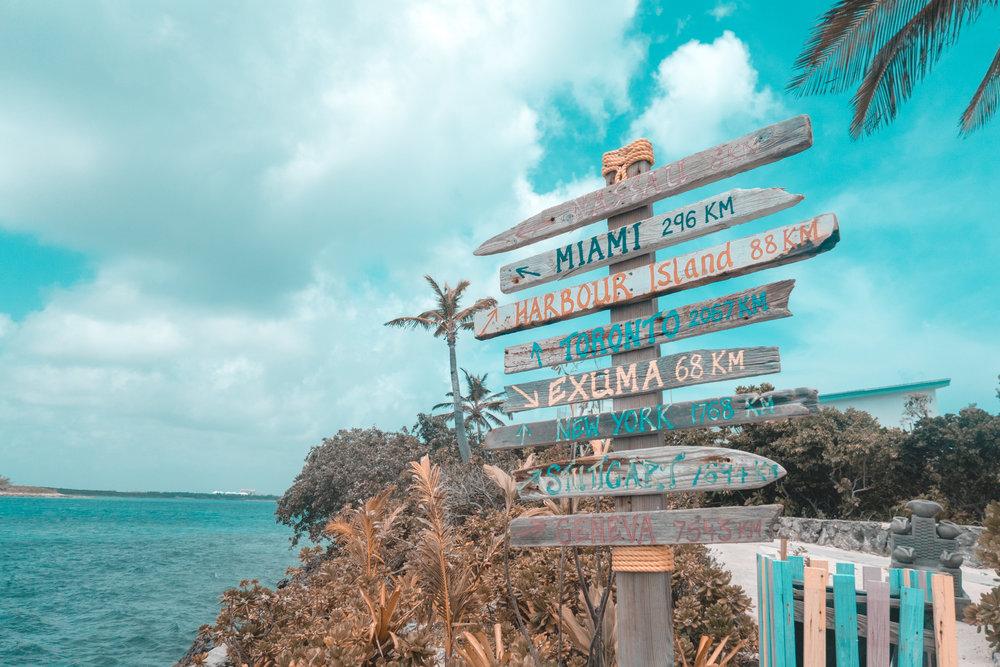 Sign Post On Traopic isalnd Beach.jpg