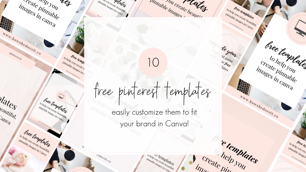 free pinterest templates for bloggers and business owners