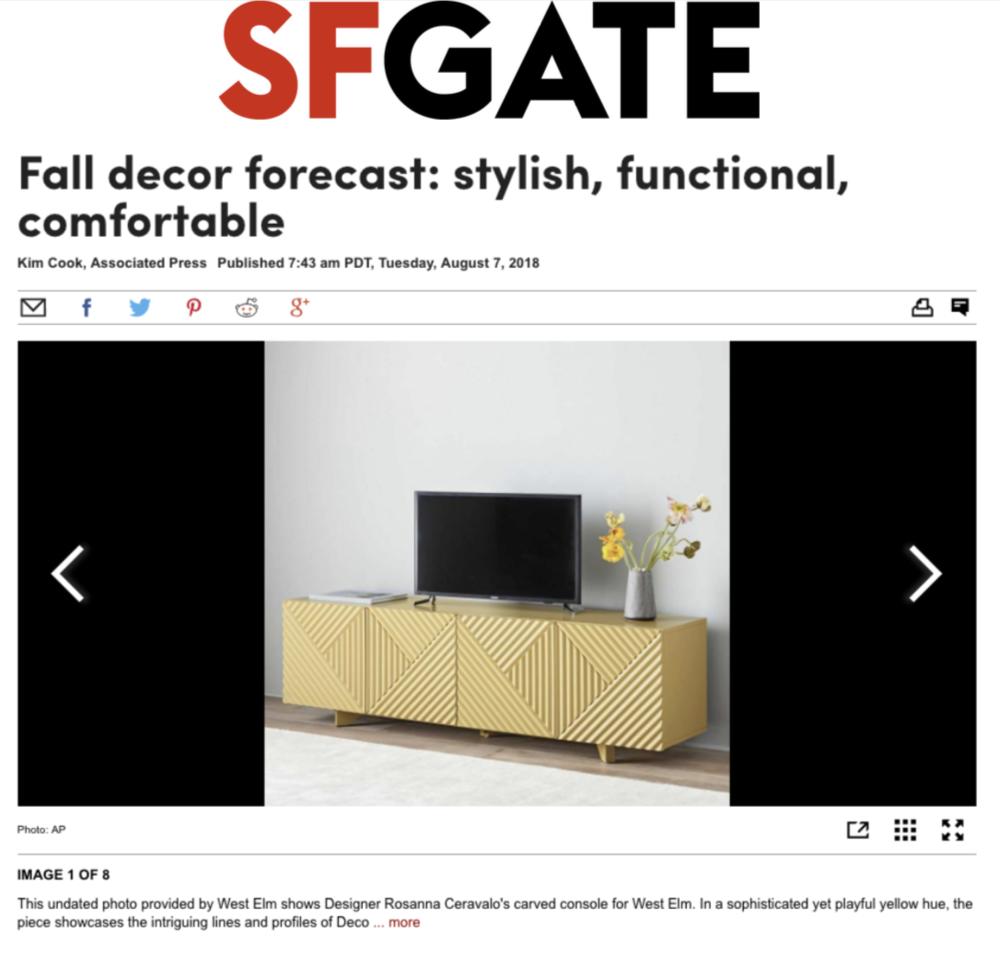 SF Gate Online