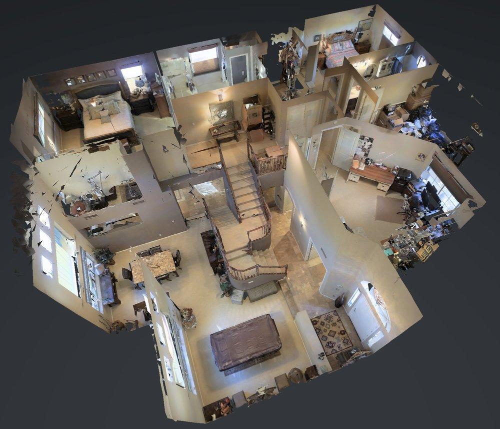 3D Tour Virtual Tour - and floorplan