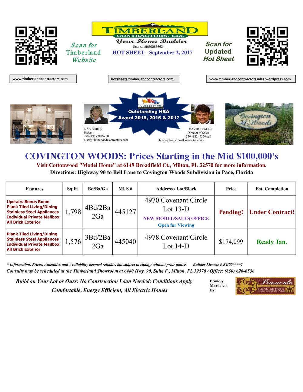 Hot Sheet Covington Woods September 2, 2017 Timberland.jpg