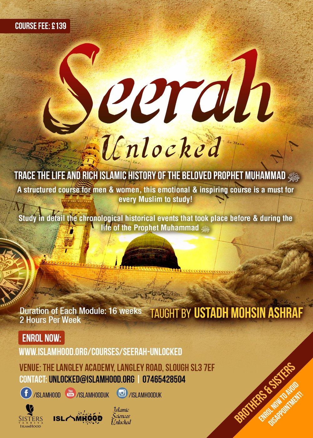 Seerah Unlocked Course Poster