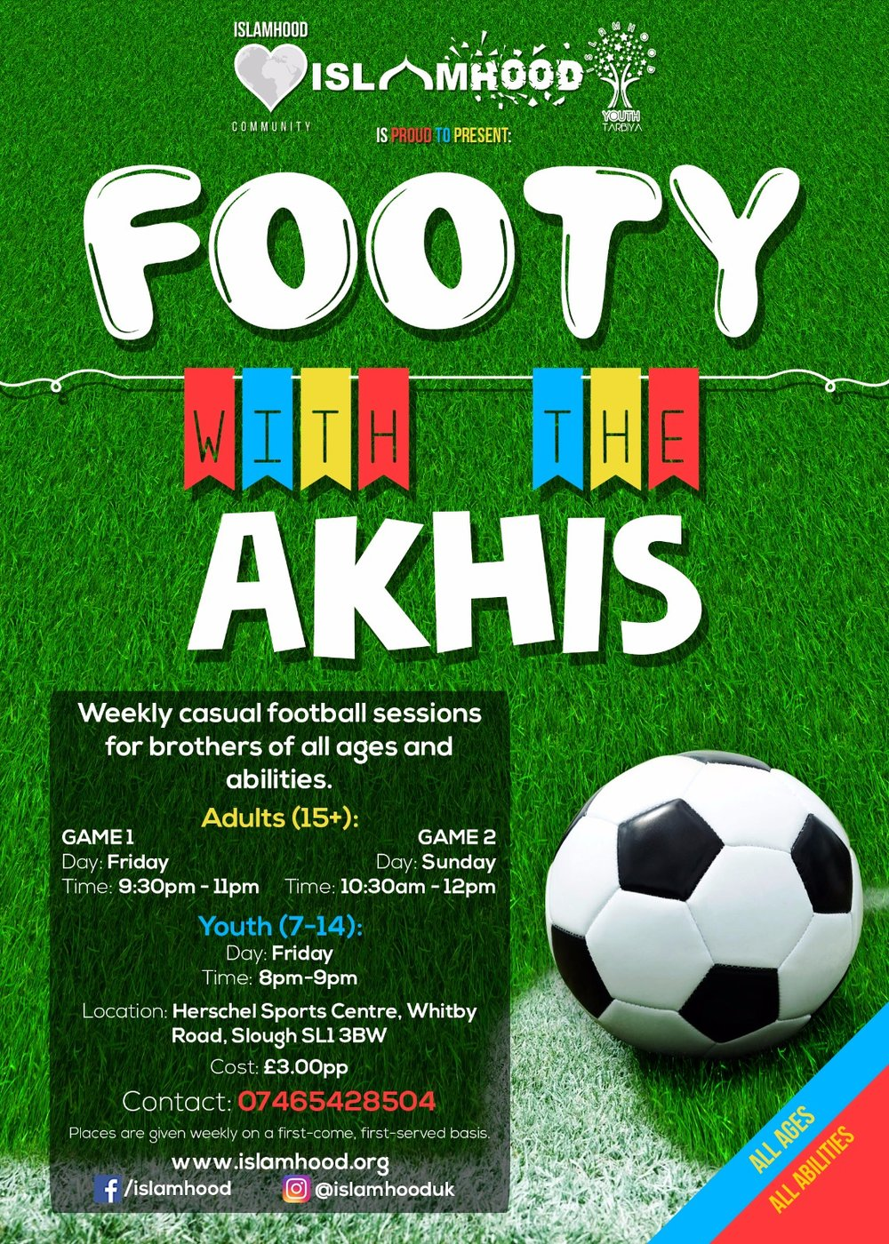 Footy with the Akhis