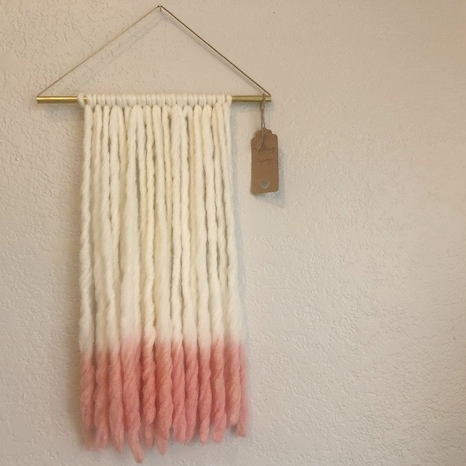 Blush Wall Tapestry - by TheDancingTapestry