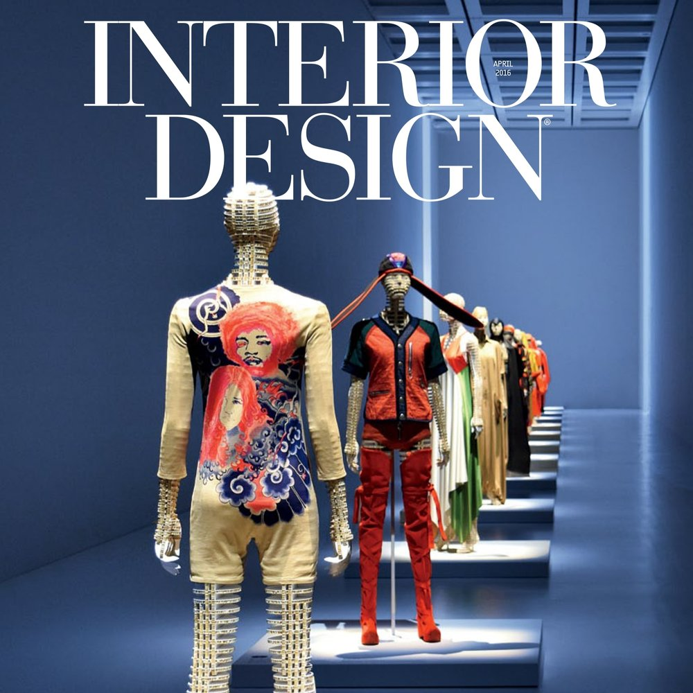 INTERIOR DESIGN, April 2016
