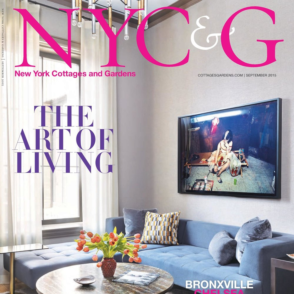 NY COTTAGES & GARDENS, September 2015