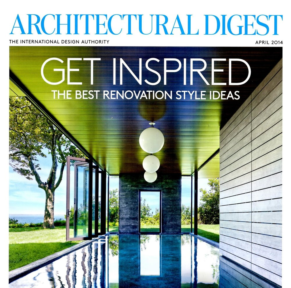 ARCHITECTURAL DIGEST, March 2014