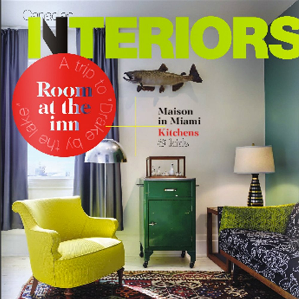 CANADIAN INTERIORS, August 2015