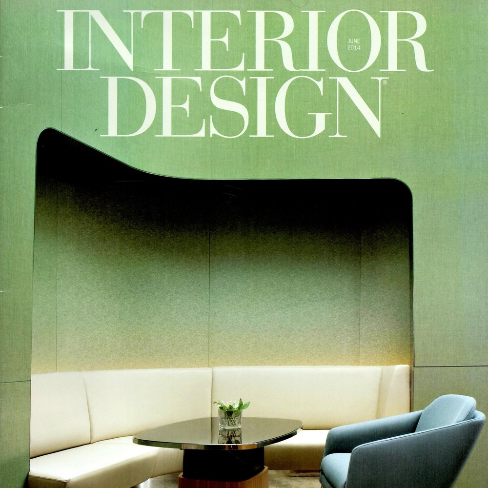 INTERIOR DESIGN, June 2014