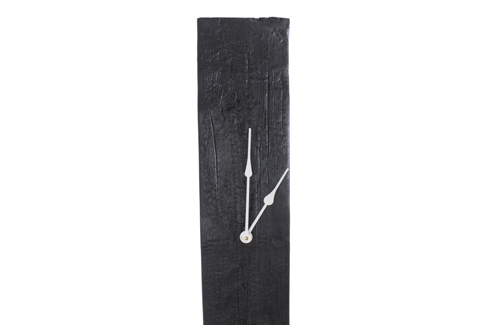 Stefan Rurak_Grandfather Clock_Charred2.jpg