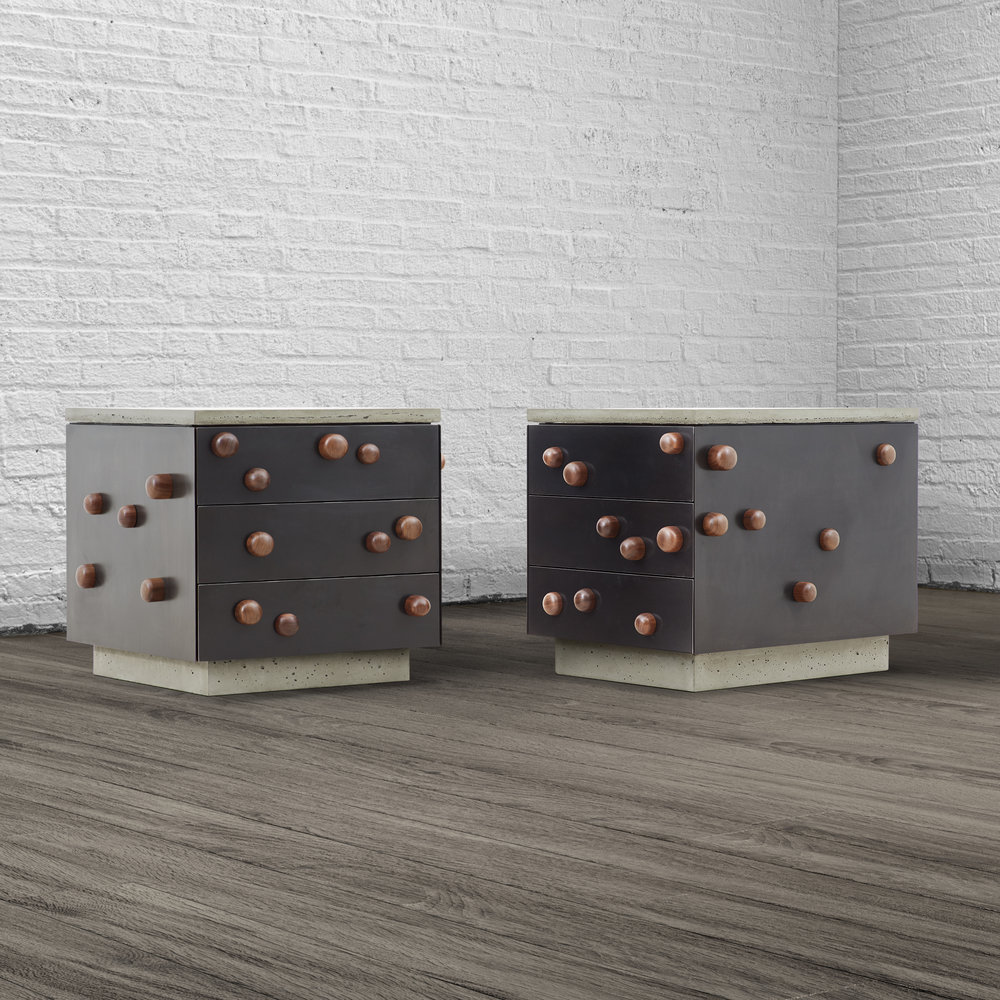 PROTRUSIONS END TABLE