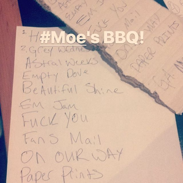 @moesbbqdenver 4/14/18 Englewood, Co . . . #barbeque #gypsy #whiskey #gypsywhiskey #livemusic #denver #coloradomusicscene #shredded #rock #fenderguitar #fenderamps #epiphoneguitars #boss #