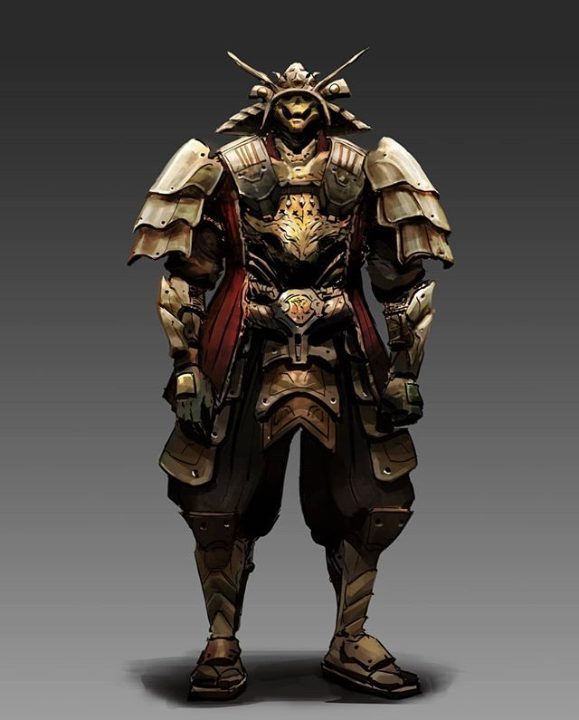 Student work by @tonyle.art  Our fall semester Environment Design and Design Basic course are almost full now! Only a handful of slots are available. Sign up now to secure your spot! ( Link in our bio)  #characterdesign #characterconcept #conceptart #environmentdesign #illustration #samurai #torontoartschool #torontoartist