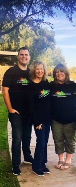 Meet Nick, Cheryl, Judi  ( L to R)
