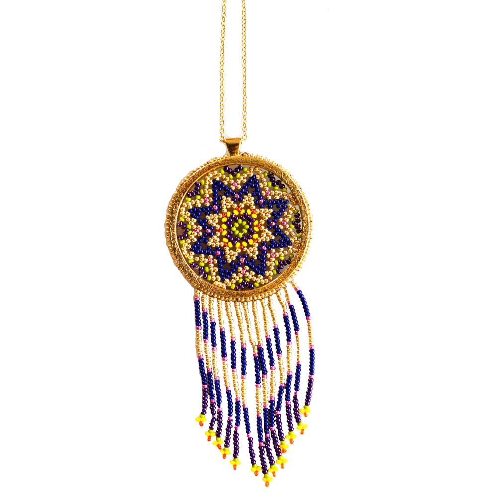 Collar circulo sagrado morado Morena Corazon S.png