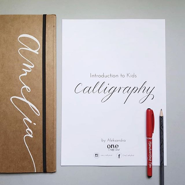 Introduction to Kids calligraphy! Yes you heard it right, we will be running a workshop on Saturday 8th December for children and they will have the chance to learn basics of calligraphy. The workshop will be run by Aleks who works in our shop @one_craftybird and tickets are selling fast for that one! £25 including materials. More info & book - head to our website. . . #calligraphyforbeginners #calligraphyforchildren #cheamvillage #inspiredcollective #thingstodoinsurrey #workshop #sutton