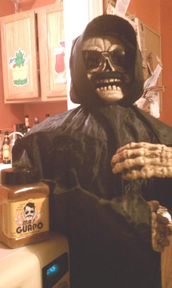 Mas Guapoon Halloween...spooky!