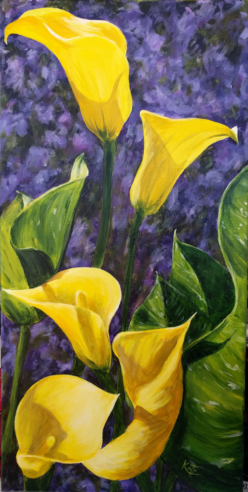 """Yellow Callas"""
