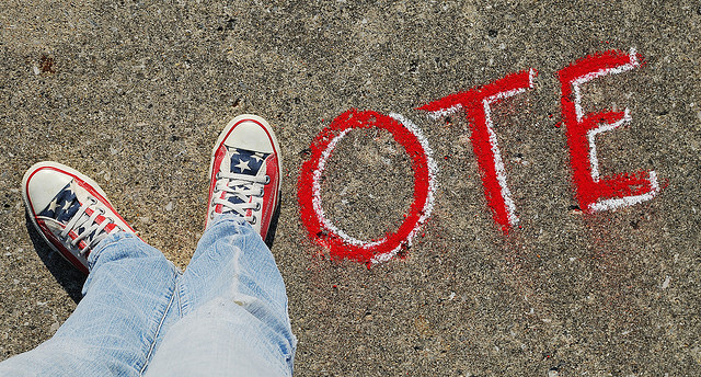 """Vote"" Photographer: Theresa Thompson License"